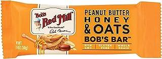 Bob's Red Mill Peanut Butter Honey & Oat Bob's Bars, (Case of 12)