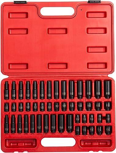 "Grey Pneumatic 1213MG 3//8/"" Drive Shallow Metric Magnetic Impact Socket Set"