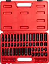 Sunex 1848, 1/4 Inch Drive Master Impact Socket Set, 48-Piece, SAE/Metric, 3/16 Inch..