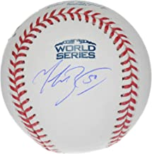 Mookie Betts Boston Red Sox Autographed 2018 World Series Logo Baseball - Fanatics Authentic Certified
