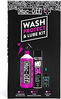 Muc Off Wash, Protect, and Lube Kit One Color, One Size