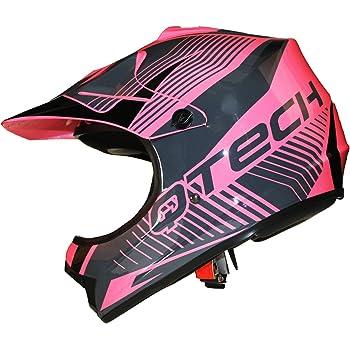 blue,M AM casque casque de v/élo Yangyer De motocross Casque Casque tout-terrain Dirt Bike Unisexe de moto Casque VTT Gants Lunettes de moto tout casque terrain MX