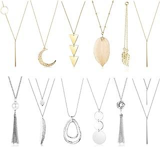 opal long necklace