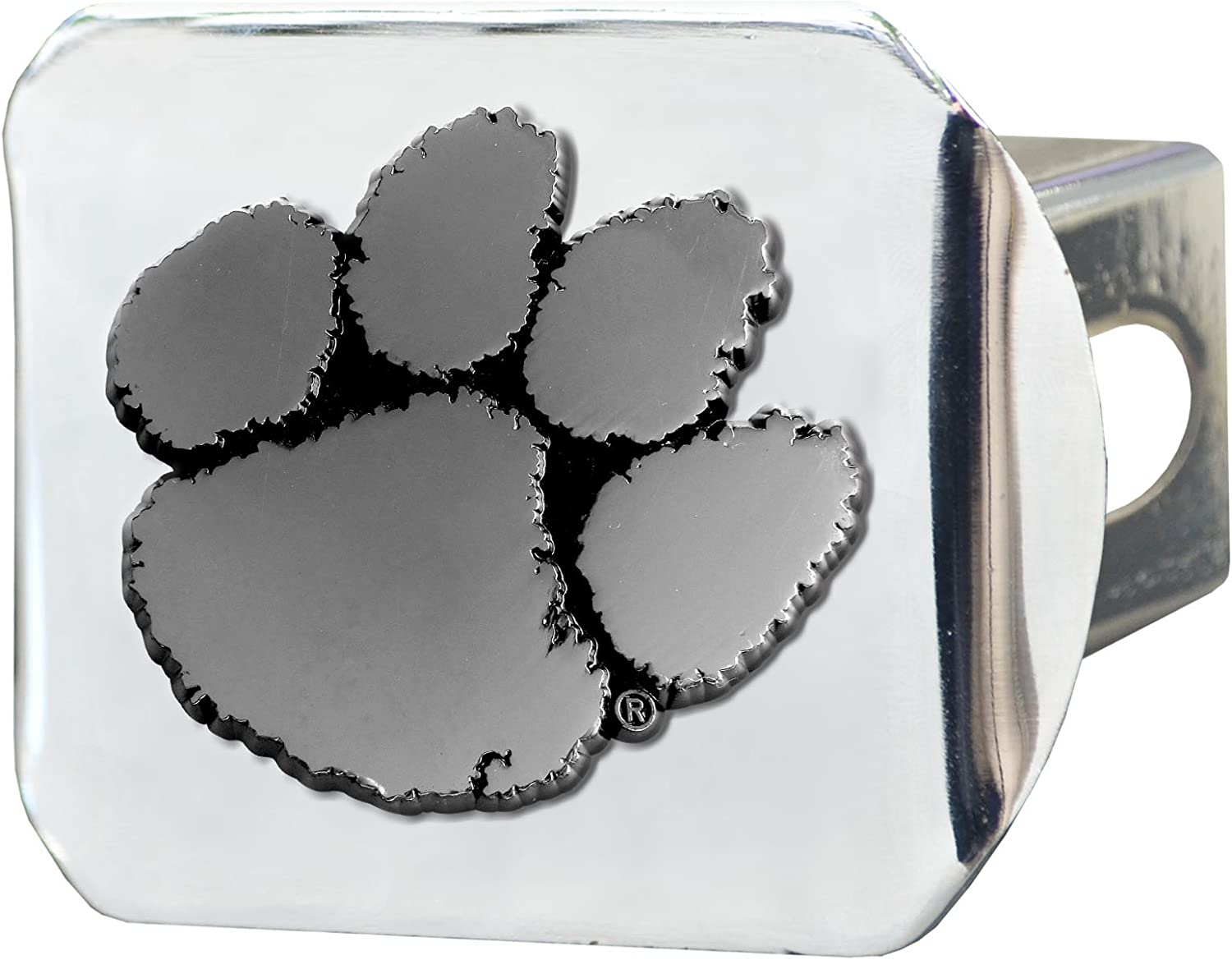 Translated FANMATS - 15079 NCAA Clemson Hitch Cove New popularity Tigers Chrome University