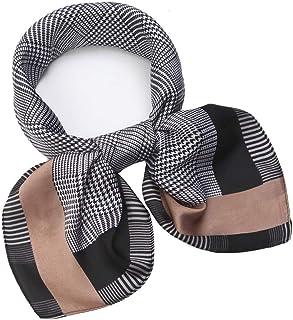 d730c18ab10 NaSoPerfect Silk Like Scarf Square Satin Hair Scarf Fashion Neck Scarfs for  Women 27