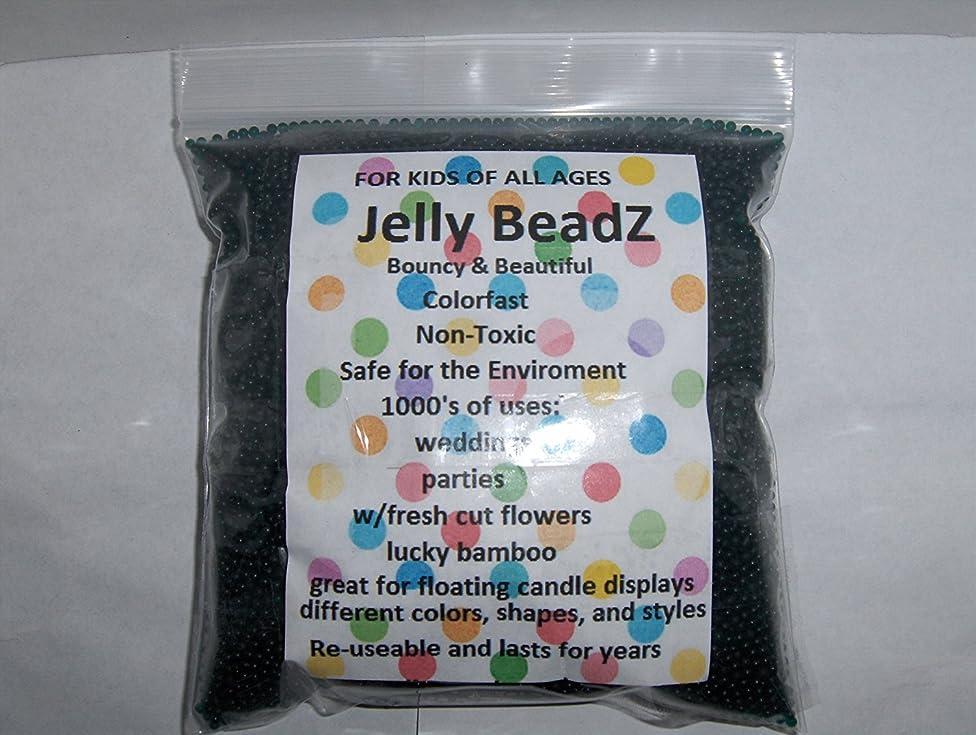 1 Pound - Huge Fun - JellyBeadZ Brand Water Beads Gel - Midnight Black
