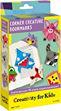 Creativity for Kids Corner Creature Fold & Decorate 10 Simple Origami Bookmarks