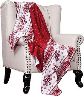 Best fair isle knit throw Reviews