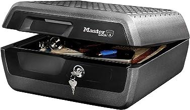 Master Lock Vuurvaste veiligheidskluis [Brand- & Waterbestendig] [Groot] - LCFW30100 - Voor A4-document, Elektronica, enz.