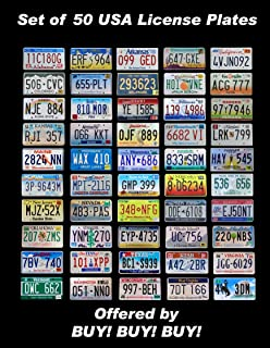 Best 50 states license plates Reviews