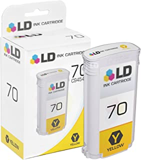LD Remanufactured Ink Cartridge Replacement for HP 70 C9454A (Yellow)