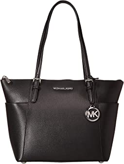 58be76c73cdf MICHAEL Michael Kors. Jet Set Item East/West Top Zip Tote. $248.00. Black