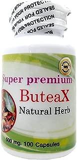 Premium ButeaX 500mg 100 Vegetarian Capsules Butea Superba Natural Herbal Powder