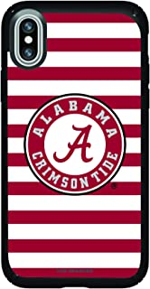 Fan Brander NCAA Phone case, Compatible with Apple iPhone Xs Max and with Speck Presidio Series with Stripes