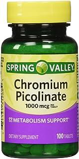 Spring Valley - Chromium Picolinate 1000 mcg, 100 Tablets