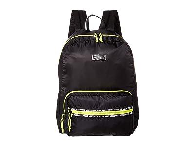 Vans After Dark Reflective Backpack (Black/Evening Primrose) Backpack Bags