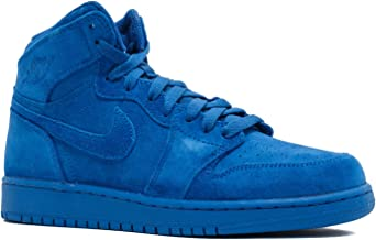Nike Boys Air Jordan 1 Retro High BG Royal Leather Size 4Y