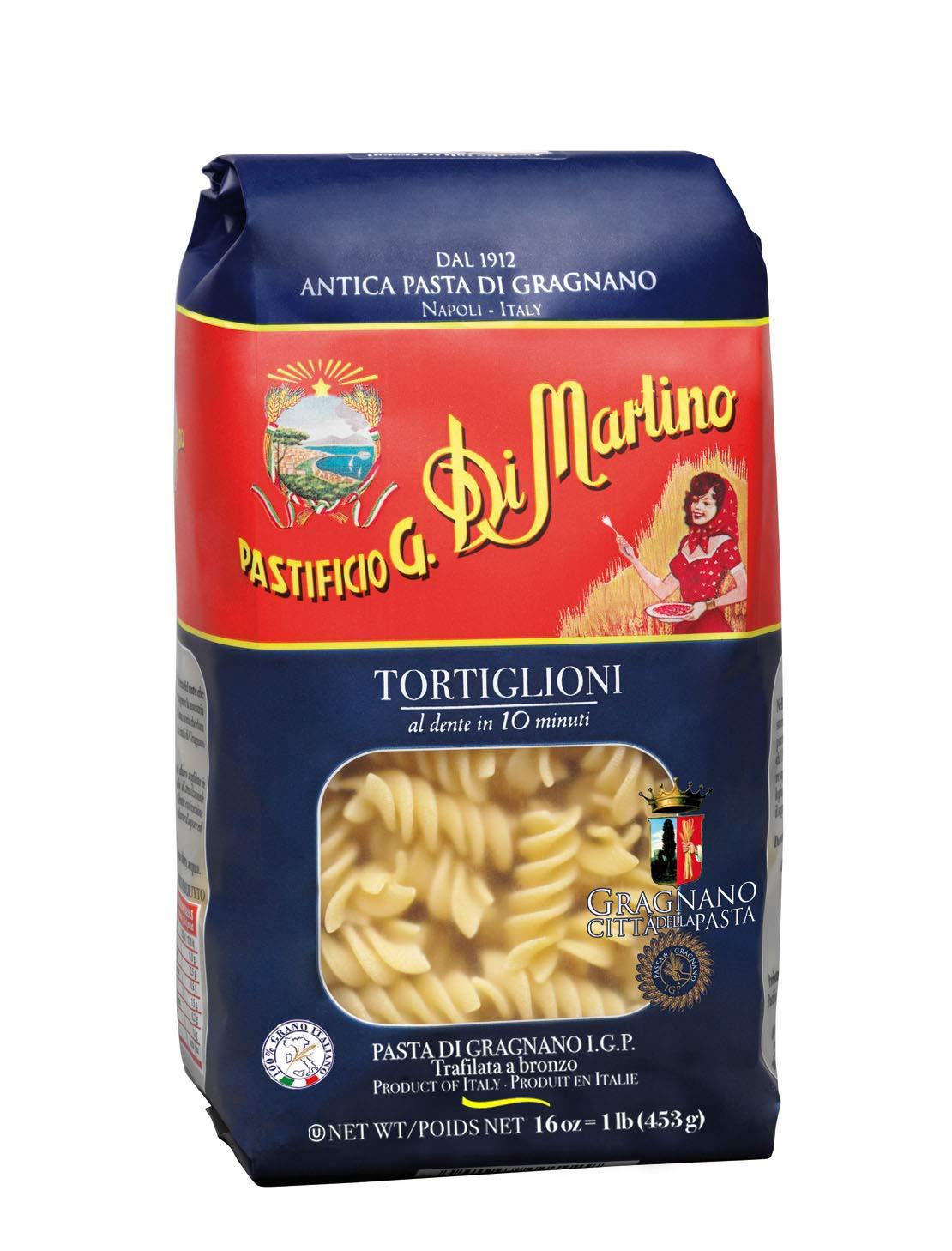Di Martino - TORTIGLIONI Pack 6 x Pasta IMPORTE Max 47% OFF SEAL limited product 1 lb Premium