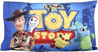 Disney Pixar Toy Story 4 Standard Pillowcase for Kids 20 x 30 Inch [1 Piece Pillowcase Only]