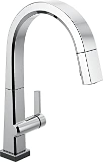 Delta Faucet Pivotal Single-Handle Touch Kitchen Sink Faucet with Pull Down Sprayer, Touch2O Technology and Magnetic Docki...