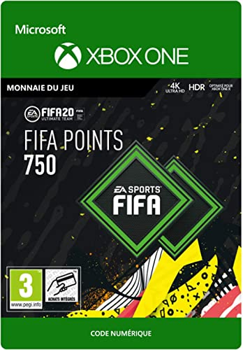 FIFA 20 Ultimate Team - 750 FIFA Points - Xbox One - Code jeu à télécharger