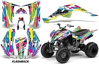Yamaha Raptor 350 2004-2014 ATV All Terrain Vehicle AMR Racing Graphic Kit Decal FLASHBACK