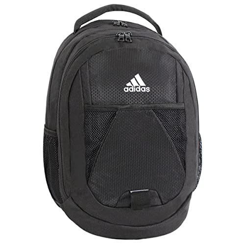 41e30b895a4 Amazon.com  adidas Dillon Backpack, Black Blast Purple Solar Pink, 17 x 12  x 11-Inch  Sports   Outdoors