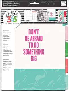 $25 » me & my BIG ideas 6 Month Calendar Extension - The Happy Planner Scrapbooking Supplies - 6 Pre-Punched Dividers - Undated ...