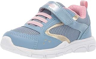 Geox 兒童新款扭矩女孩 4 Sp 魔術貼運動鞋