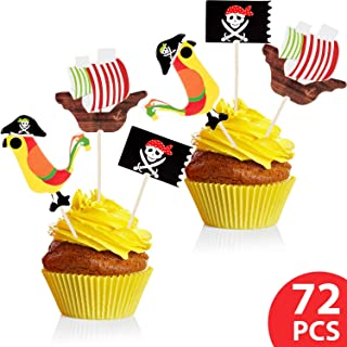 Best cupcake pirate flags Reviews
