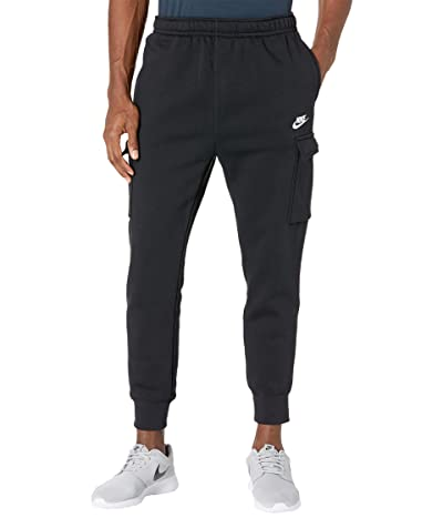 Nike NSW Club Pants Cargo (Black/Black/White) Men