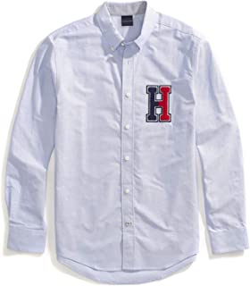Tommy Hilfiger Men's Adaptive Magnetic Long Sleeve Button...