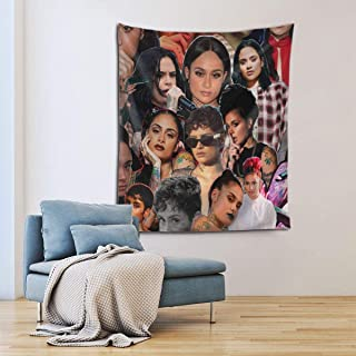 JUDE STEPHENSON Kehlani Tapestry Wall Hanging Tapestry Decoration Wall Art for Bedroom Dorm Living Room Kitchen Home Decor 60x51 Inches