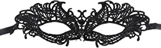 Ivysan Halloween Cosplay Lace Eye Mask for Masquerade Party