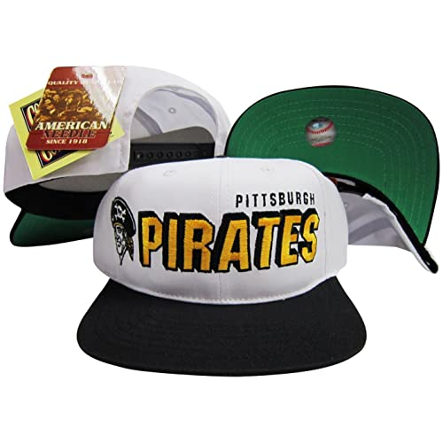 buy popular 8260a 01bfb ... canada american needle pittsburgh pirates two tone plastic snapback  adjustable plastic snap back hat cap 553aa