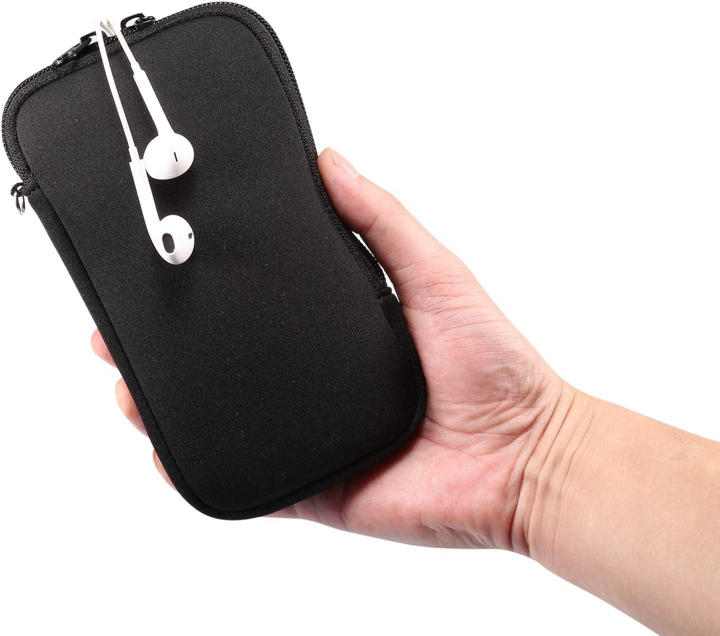 Strimm Funda protectora universal con cierre de cremallera para iPhone 12 Pro Max tel/éfonos inteligentes de 6.7 a 6.9 pulgadas