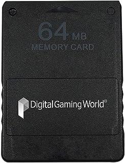 Digital Gaming World® 64-MB Memory Card for PS-2 (Grade-1)