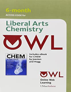 OWL with eBook 6-Months Printed Access Card for Joesten/Hogg's CHEM 4LTR