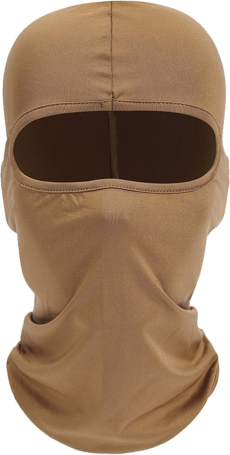 Your Choice Balaclava Face Mask Hot Weather Summer Protection, Sand