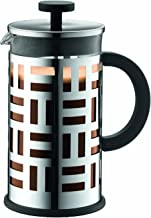 Bodum Eileen French Press Coffee Make, Chrome, BD-11195-16, 1 L