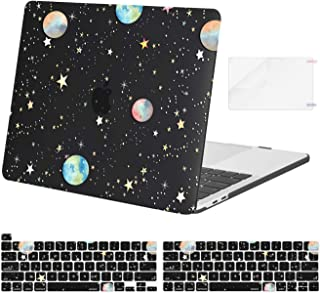 MOSISO Funda Dura Compatible con 2020-2016 MacBook Pro 13 A2338 M1 A2289 A2251 A2159 A1989 A1706 A1708, Planetas Estrellas...
