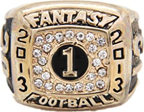 TYSping Fantasy Football 2011-2017 Championship Ring Trophy Prize