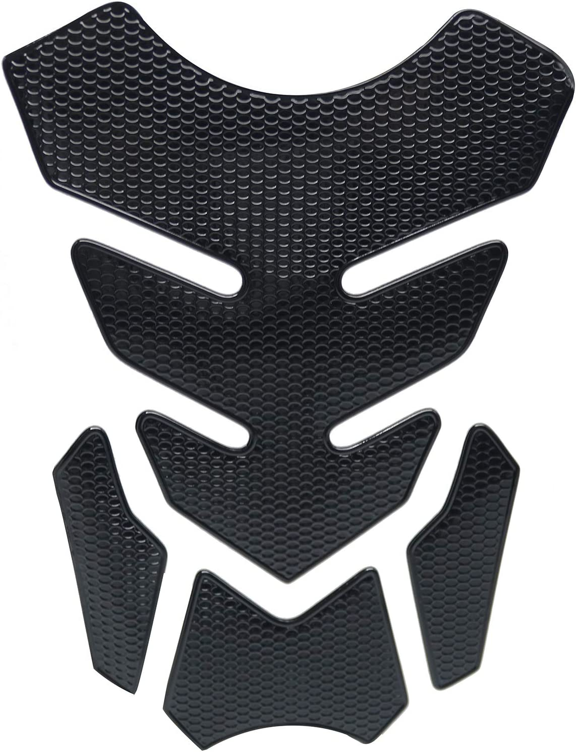 Black Powersports Max 88% OFF Gas Tank Protectors - Oil Courier shipping free Motorcycle F for