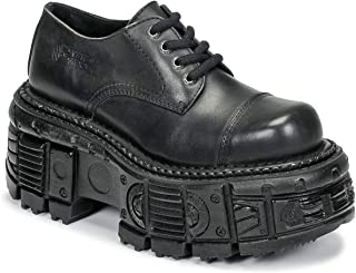 New Rock Niki Derby Shoes & Brogues Hommes Black Brogues