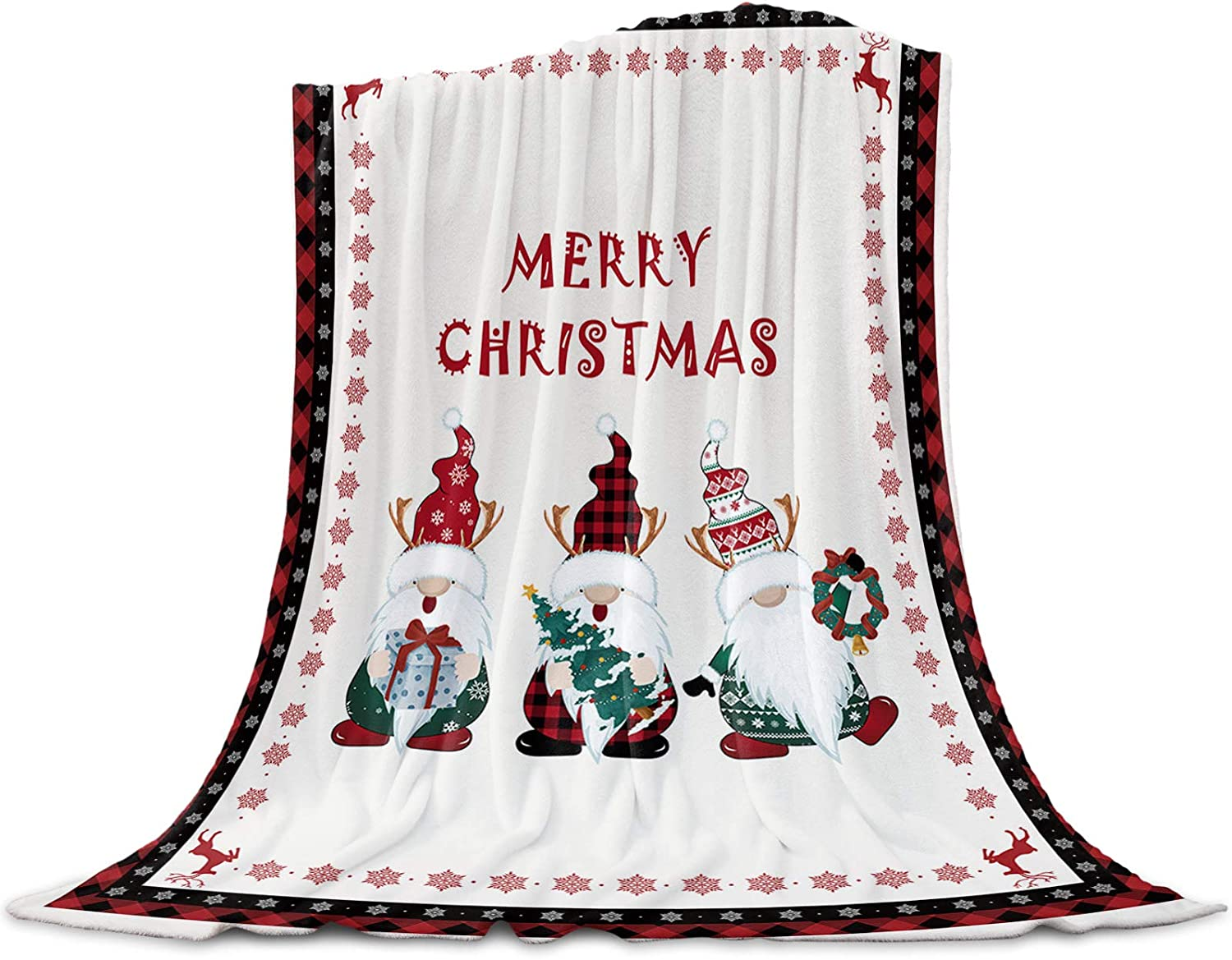 LEO BON Soft Warmer Throw Blankets Season All for Christma Merry OFFicial store Courier shipping free