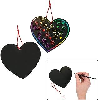 Fun Express Magic Color Scratch Hearts (24 Pieces) 5