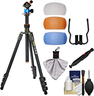 3 Legged Thing Punks Patti 64-inch Magnesium Tripod with AirHed Mini (Grey) with Filters + Cleaning Kit