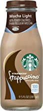 Starbucks Frappuccino, Mocha Light, 9.5 Fl Oz (15 Count)