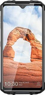OUKITEL WP8 Pro SIMフリー スマホ 本体 IP68&IP69スマホ 防水 防塵 耐衝撃 6.49インチの大画面 デュアル4G SIM Android 10.0 5000mAhの大型バッテリー 4GB RAM+64GB ROM(...