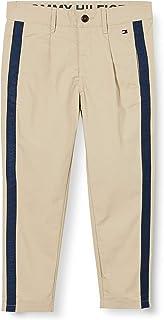 Tommy Hilfiger TH Cool Pleated Chino Tape Pants Pantalones para Niños